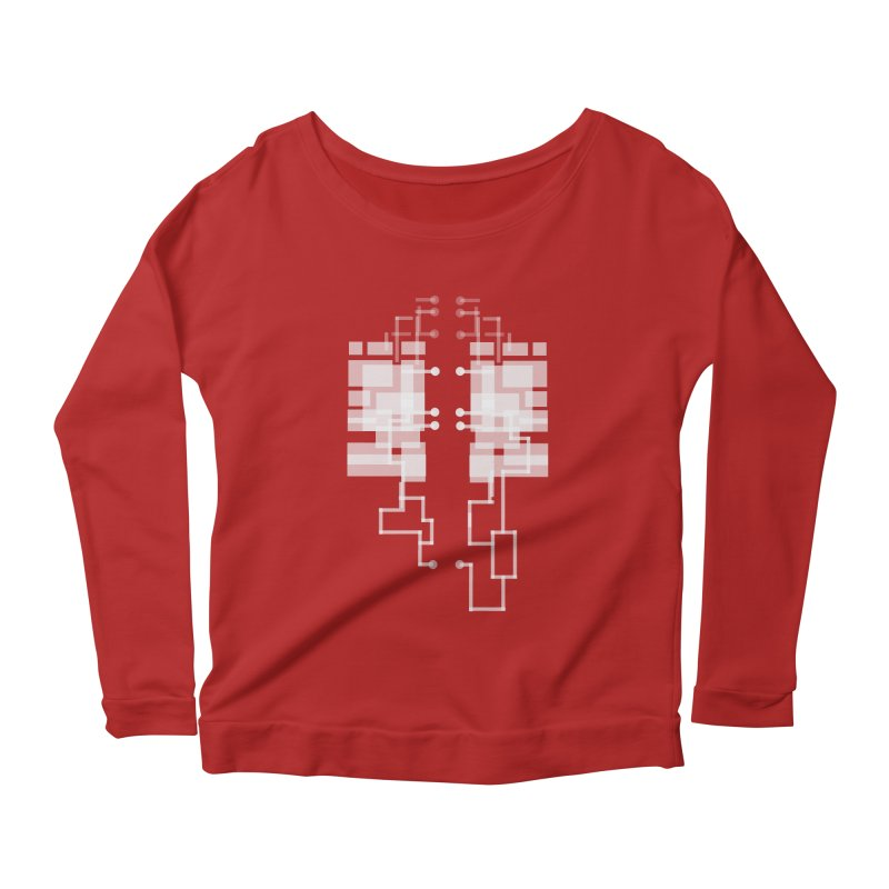 LUNGS OF A GAMER Women's Longsleeve Scoopneck  by pick&roll