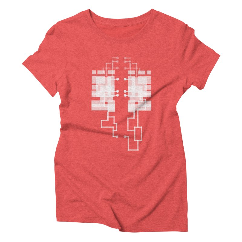 LUNGS OF A GAMER Women's Triblend T-shirt by pick&roll