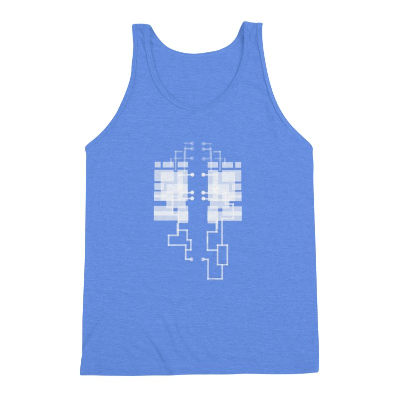 LUNGS OF A GAMER Men's Triblend Tank by pick&roll