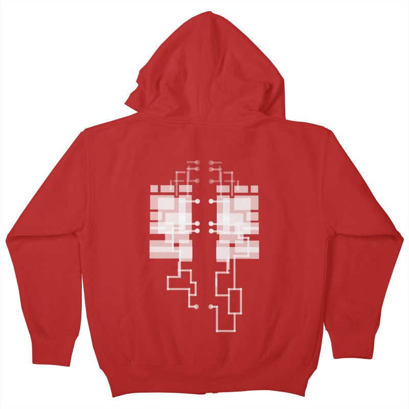LUNGS OF A GAMER Kids Zip-Up Hoody by pick&roll