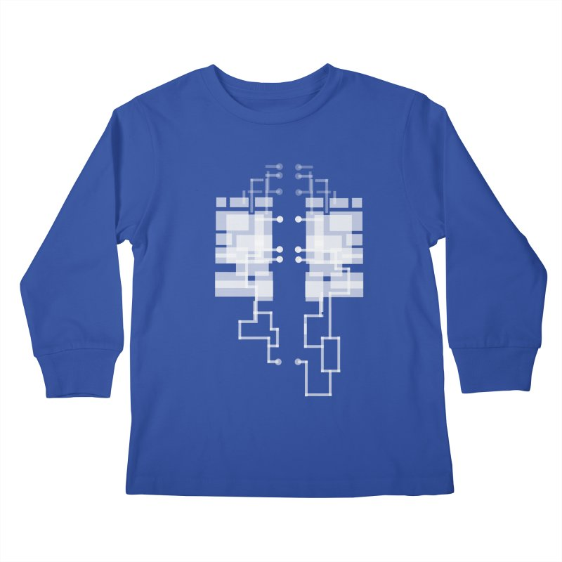 LUNGS OF A GAMER Kids Longsleeve T-Shirt by pick&roll