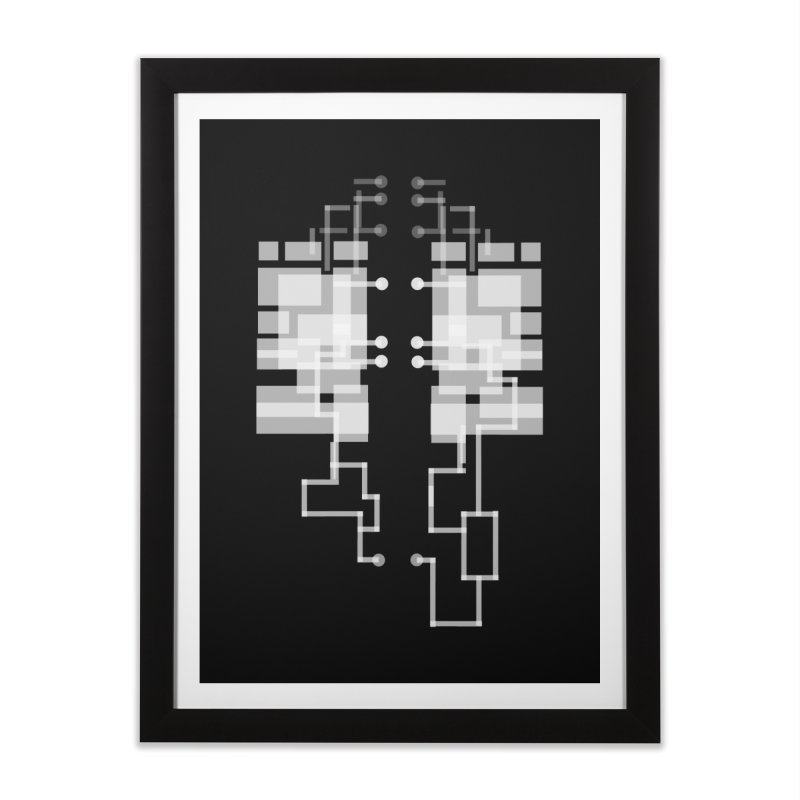 LUNGS OF A GAMER Home Framed Fine Art Print by pick&roll