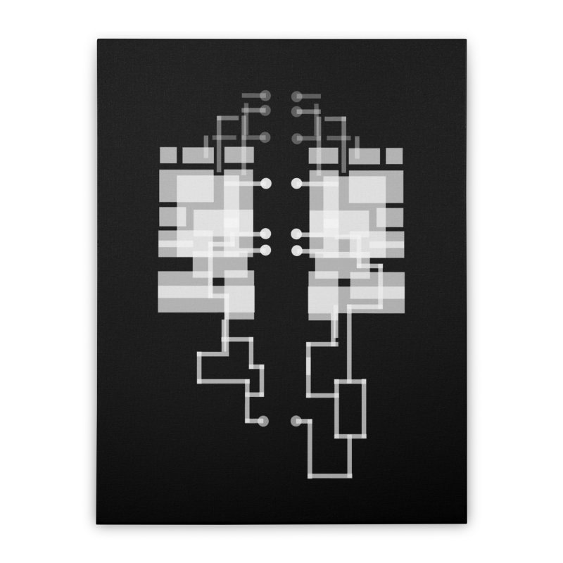 LUNGS OF A GAMER Home Stretched Canvas by pick&roll