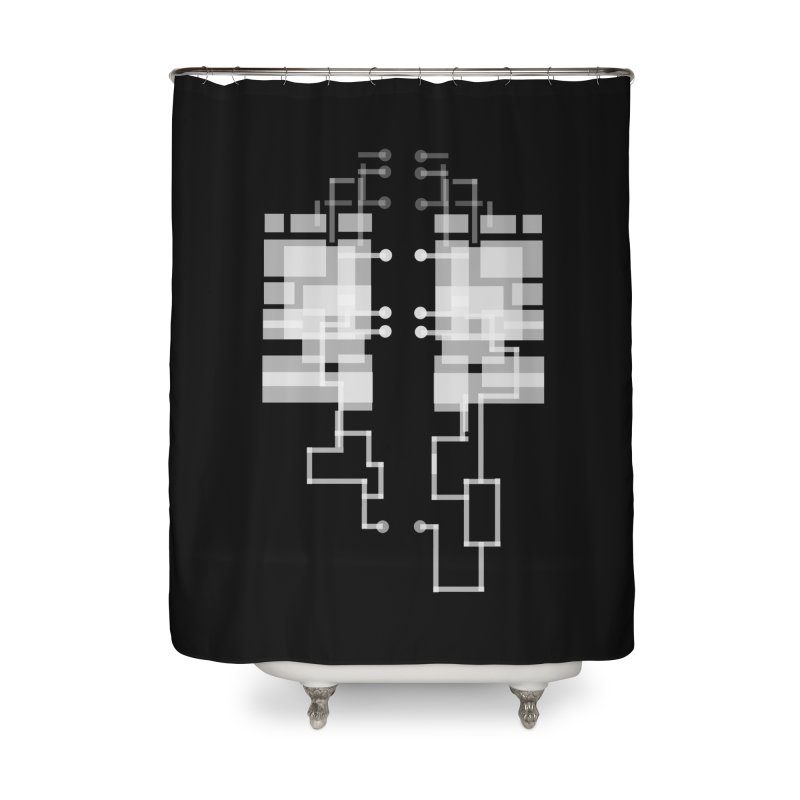 LUNGS OF A GAMER Home Shower Curtain by pick&roll