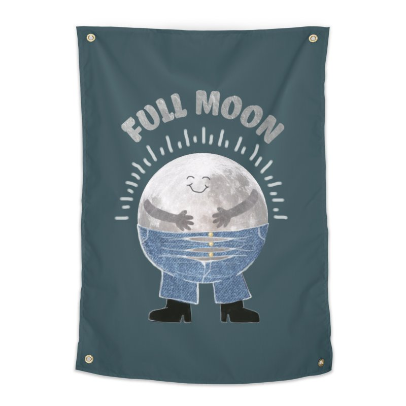 FULL MOON Home Tapestry by pick&roll