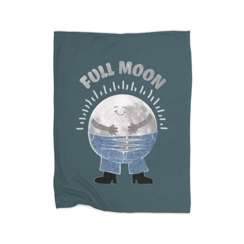 FULL MOON Home Blanket by pick&roll
