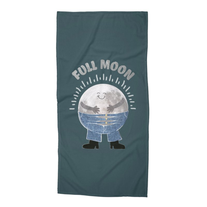FULL MOON Accessories Beach Towel by pick&roll