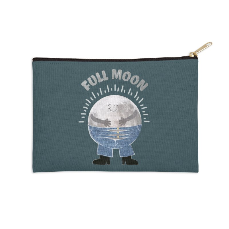 FULL MOON Accessories Zip Pouch by pick&roll