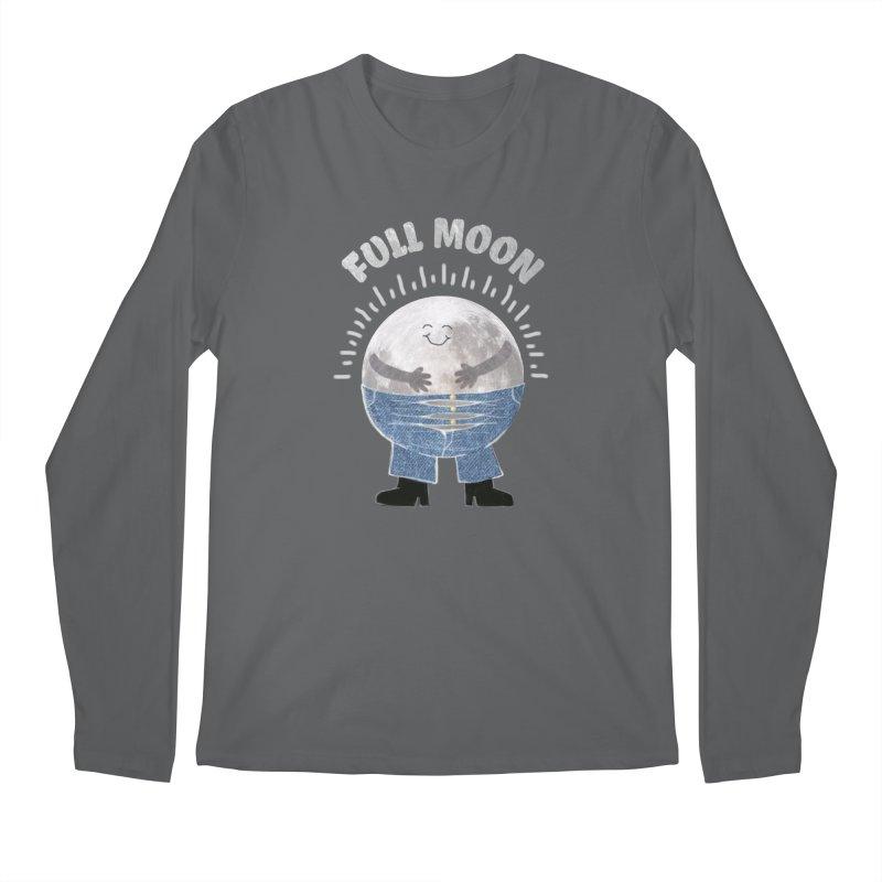 FULL MOON Men's Longsleeve T-Shirt by pick&roll