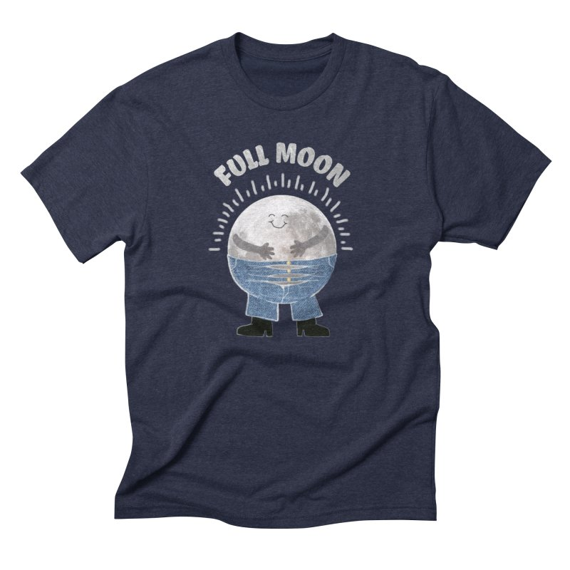 FULL MOON Men's Triblend T-shirt by pick&roll