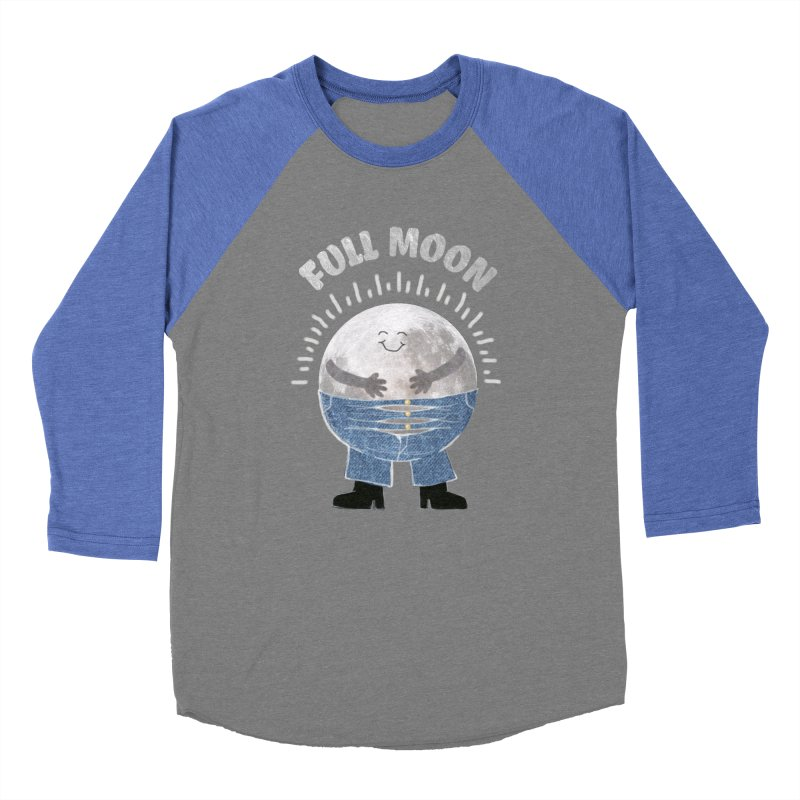 FULL MOON Men's Baseball Triblend T-Shirt by pick&roll