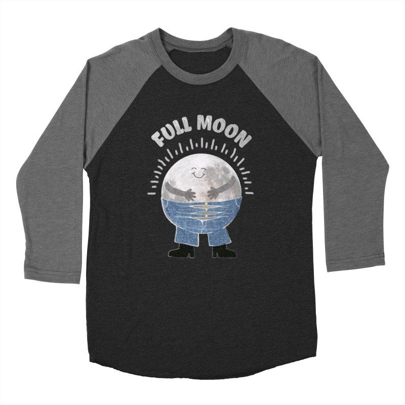FULL MOON Men's Baseball Triblend T-Shirt by pick&roll