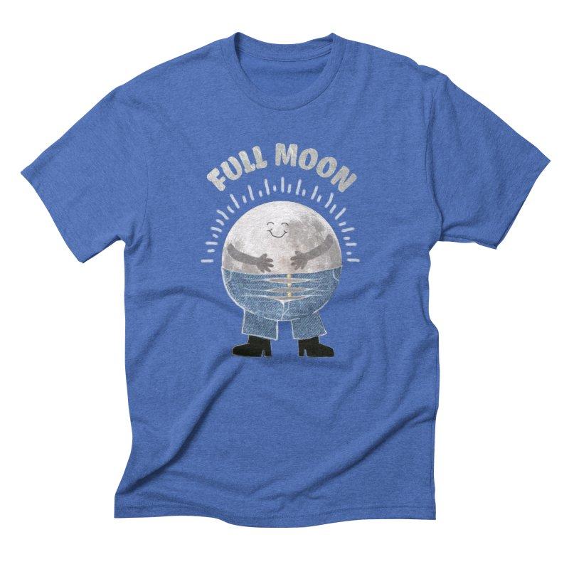 FULL MOON Men's Triblend T-shirt by pick&roll