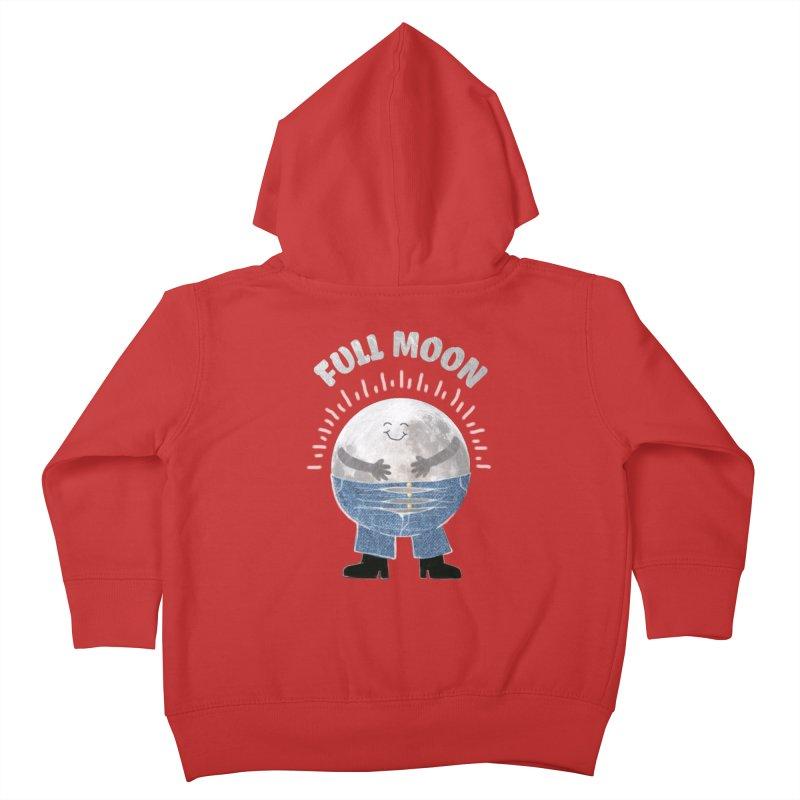 FULL MOON Kids Toddler Zip-Up Hoody by pick&roll