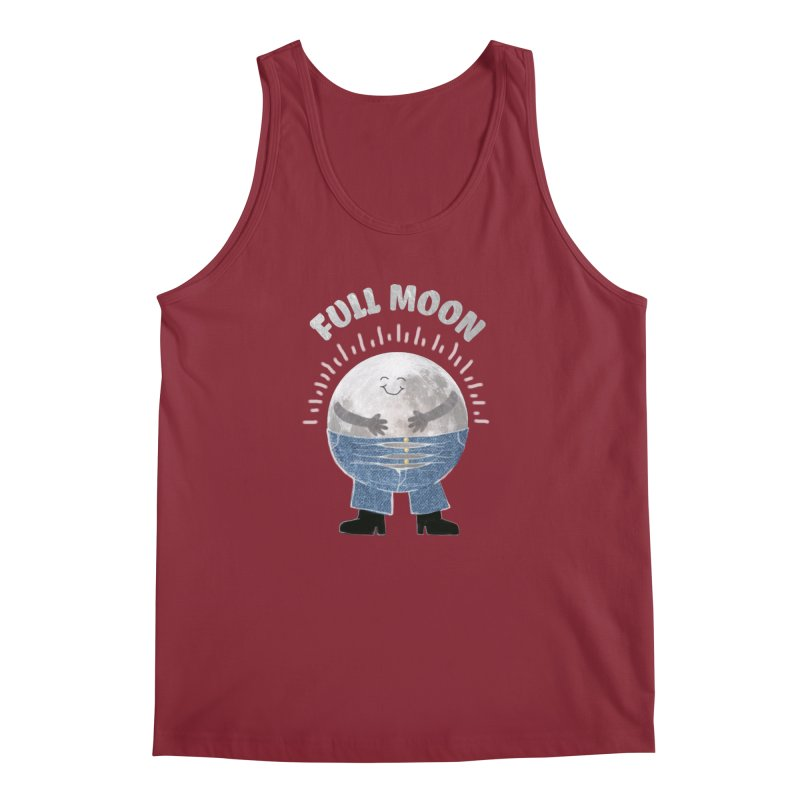 FULL MOON Men's Tank by pick&roll