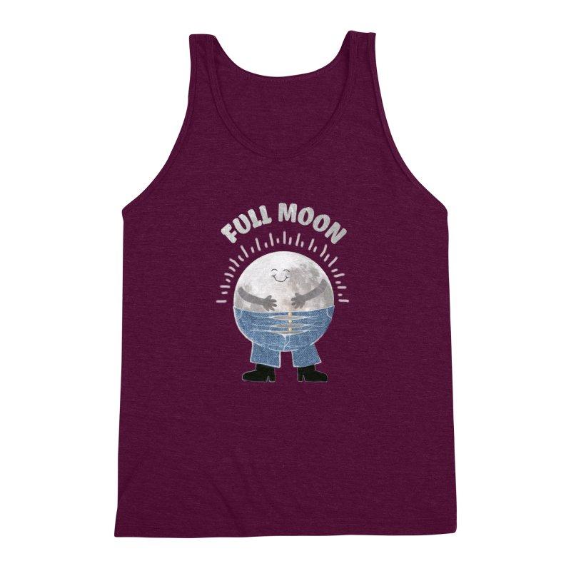 FULL MOON Men's Triblend Tank by pick&roll