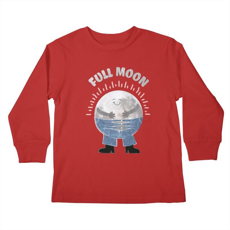 FULL MOON Kids Longsleeve T-Shirt by pick&roll