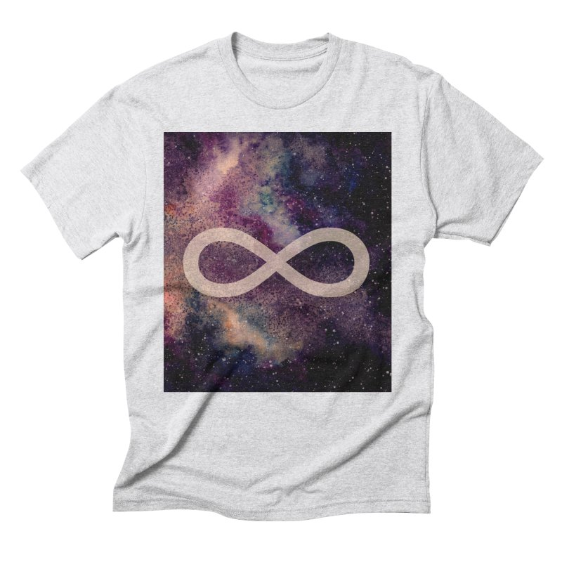 SPACE NOSTALGIA Men's Triblend T-Shirt by pick&roll