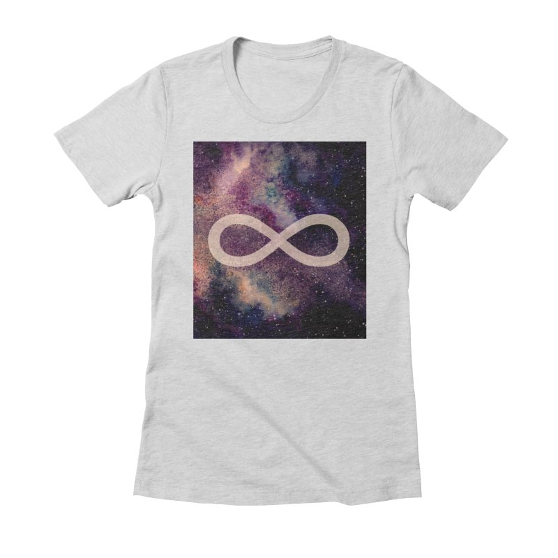 SPACE NOSTALGIA Women's Fitted T-Shirt by pick&roll