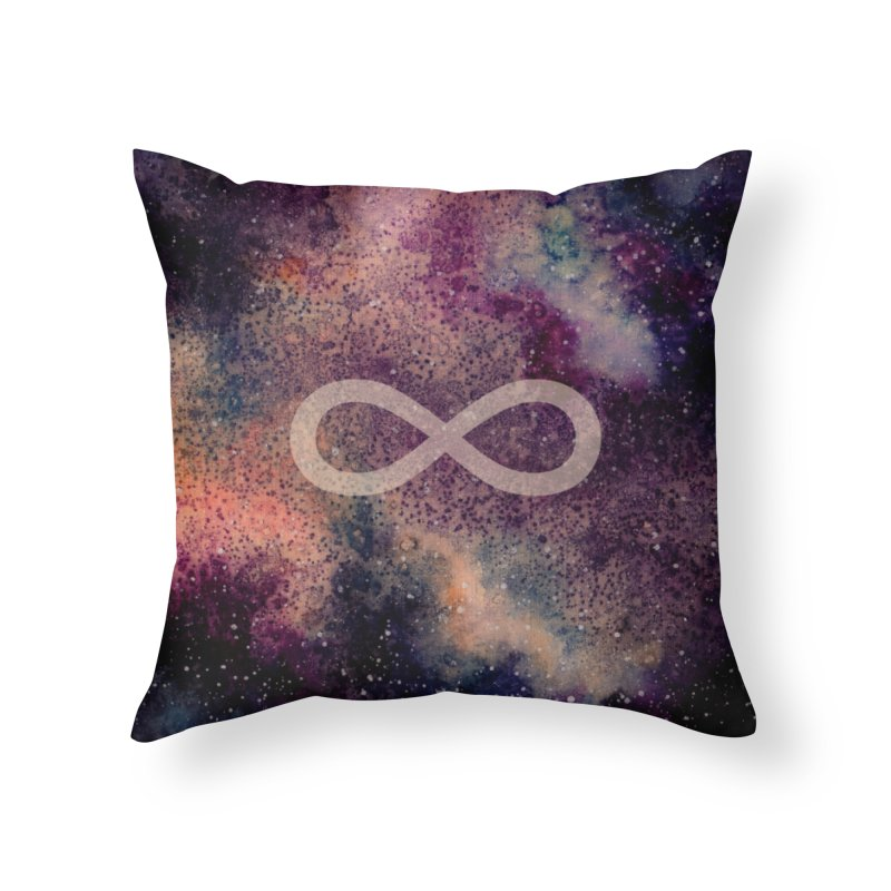 SPACE NOSTALGIA Home Throw Pillow by pick&roll