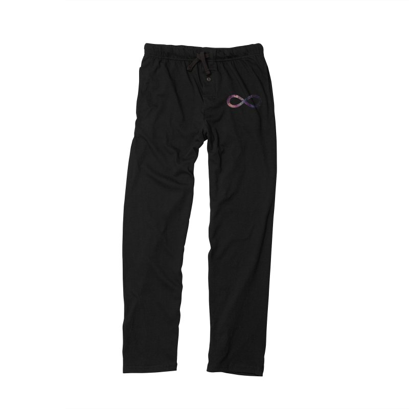 INFINITY SPACE in Women's Lounge Pants Black by pick&roll