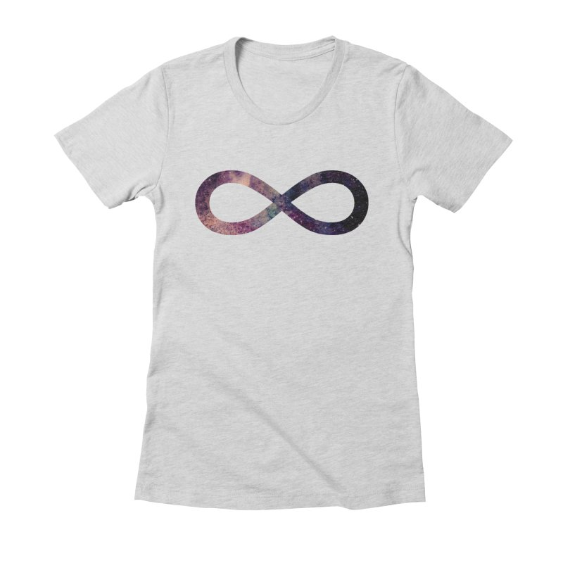 INFINITY SPACE Women's Fitted T-Shirt by pick&roll