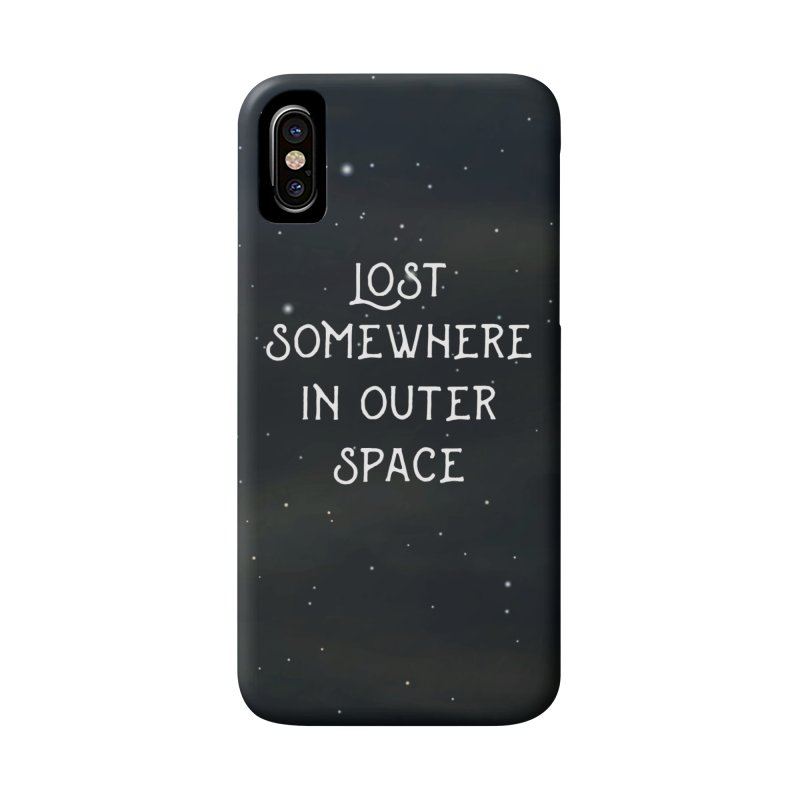 LOST SOMEWHERE IN OUTER SPACE Accessories Phone Case by pick&roll