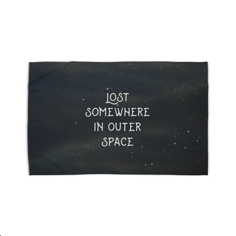 LOST SOMEWHERE IN OUTER SPACE Home Rug by pick&roll