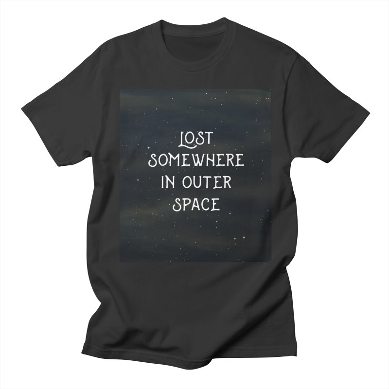 LOST SOMEWHERE IN OUTER SPACE Men's T-shirt by pick&roll