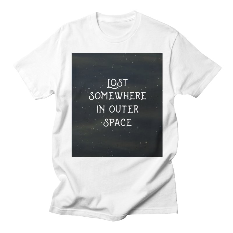 LOST SOMEWHERE IN OUTER SPACE Women's Unisex T-Shirt by pick&roll