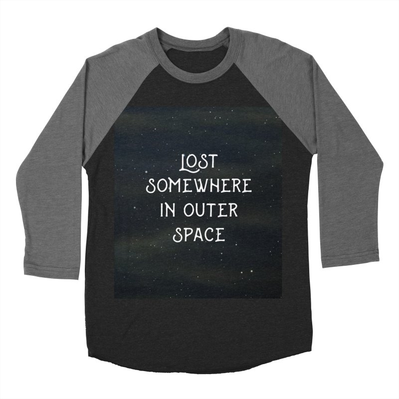 LOST SOMEWHERE IN OUTER SPACE Men's Baseball Triblend T-Shirt by pick&roll