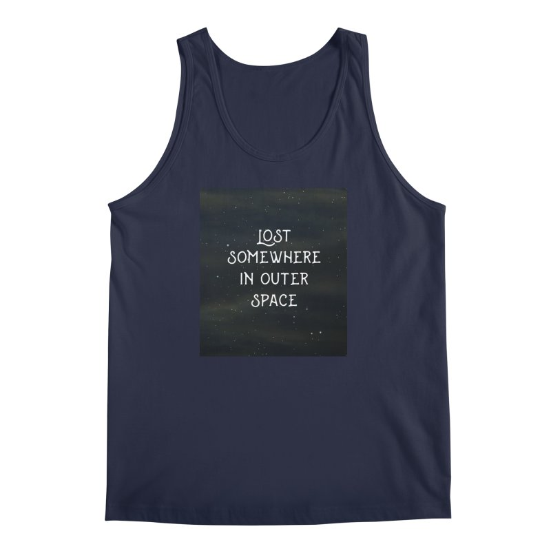 LOST SOMEWHERE IN OUTER SPACE Men's Tank by pick&roll
