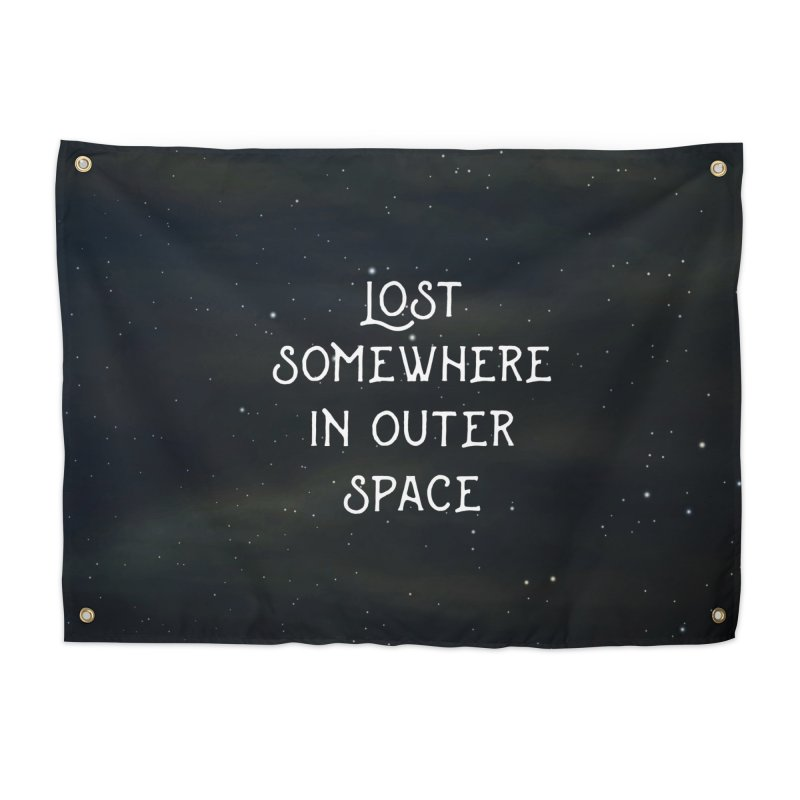 LOST SOMEWHERE IN OUTER SPACE Home Tapestry by pick&roll