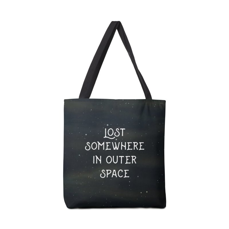 LOST SOMEWHERE IN OUTER SPACE Accessories Bag by pick&roll