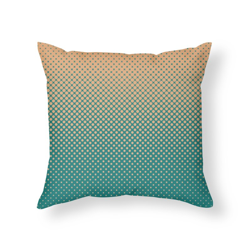 DOTTED ILLUSION Home Throw Pillow by pick&roll