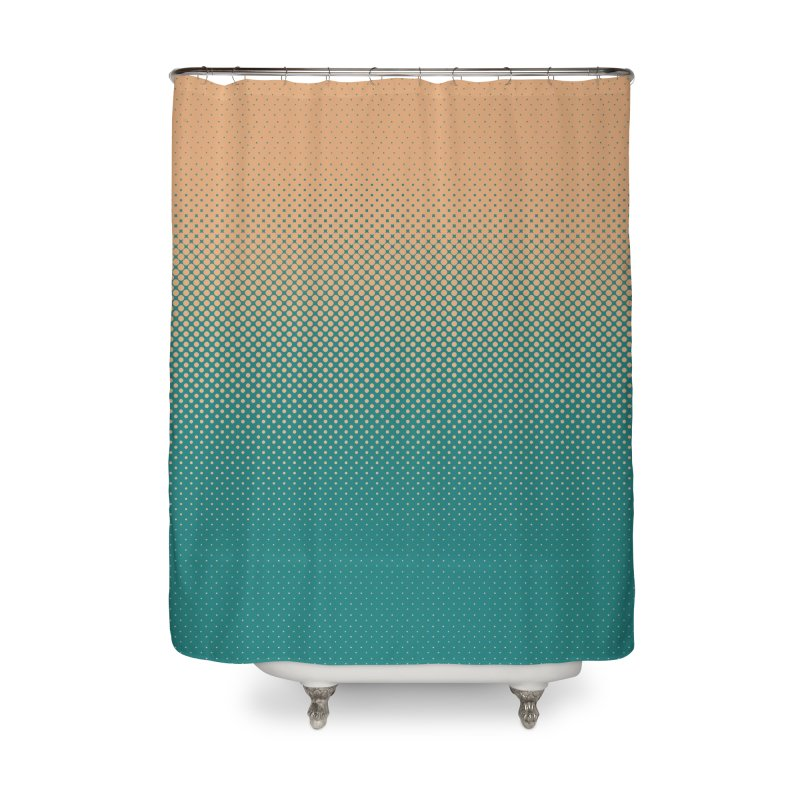 DOTTED ILLUSION Home Shower Curtain by pick&roll