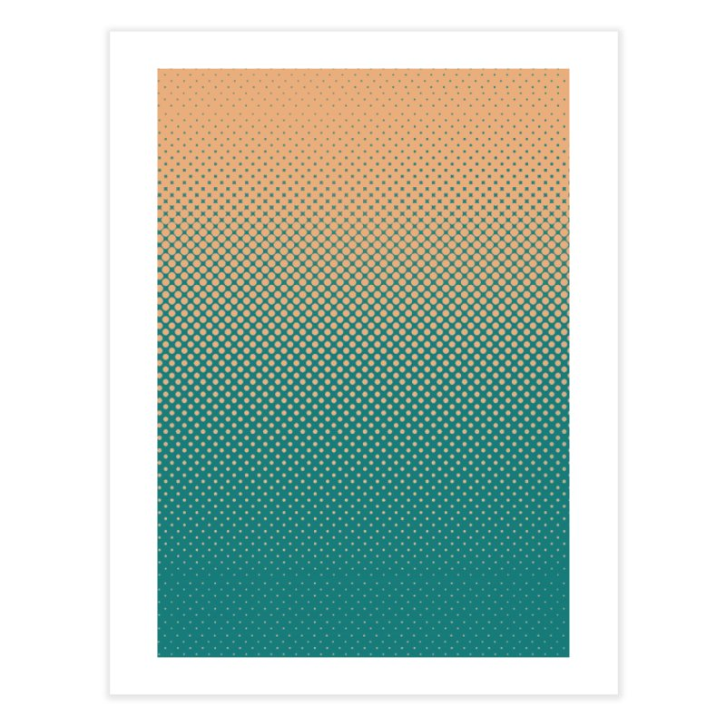 DOTTED ILLUSION Home Fine Art Print by pick&roll