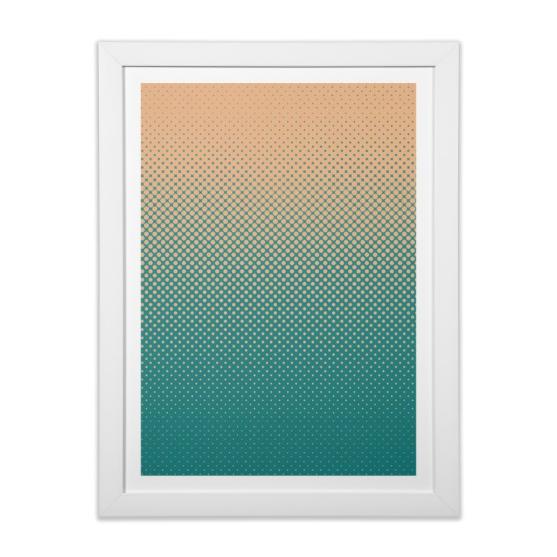 DOTTED ILLUSION Home Framed Fine Art Print by pick&roll