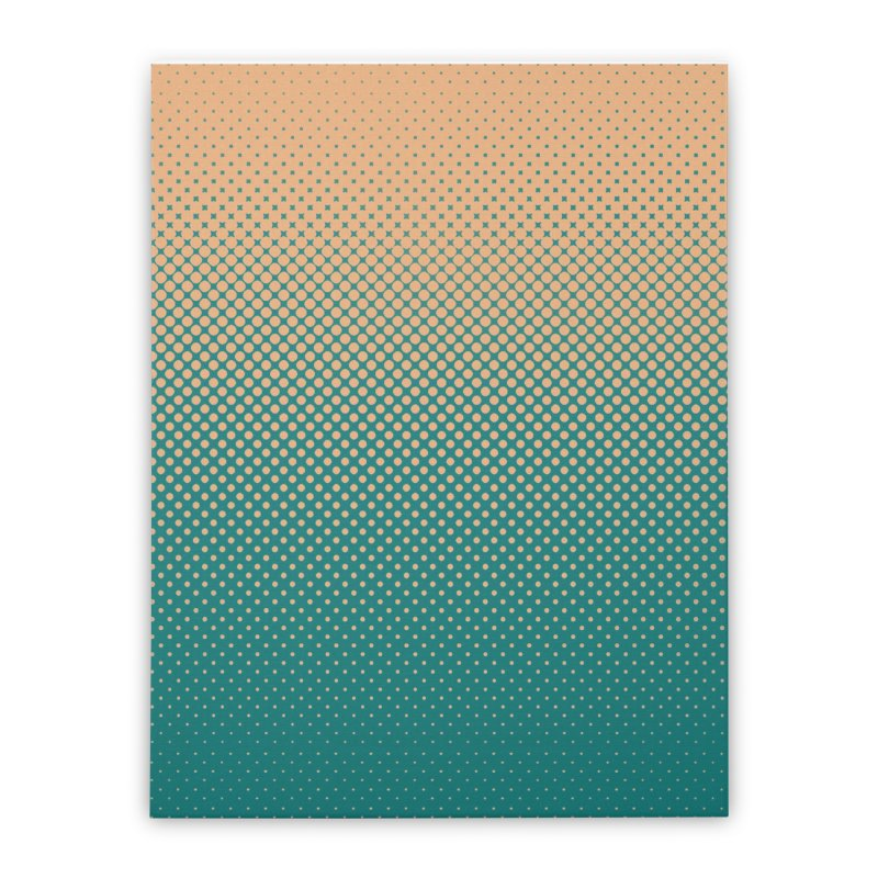 DOTTED ILLUSION Home Stretched Canvas by pick&roll