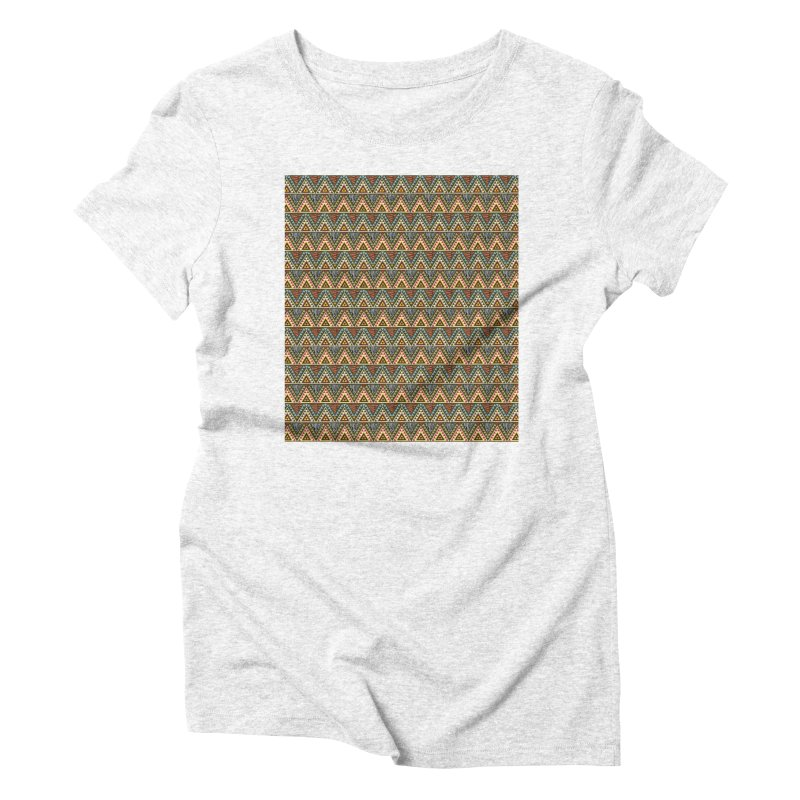 AFRICAN STYLE Women's Triblend T-shirt by pick&roll