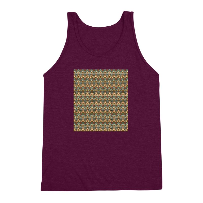 AFRICAN STYLE Men's Triblend Tank by pick&roll