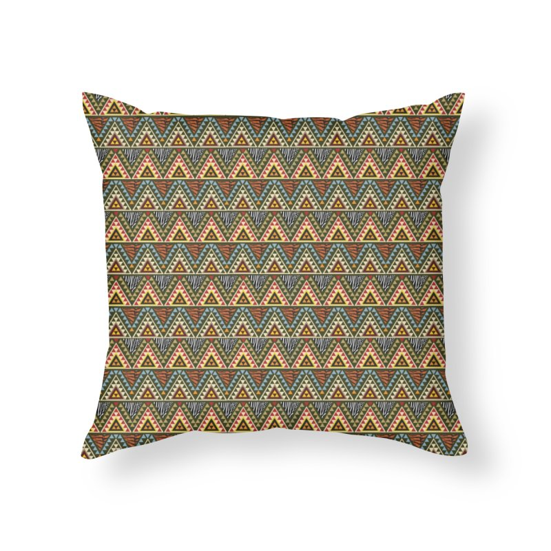 AFRICAN STYLE Home Throw Pillow by pick&roll