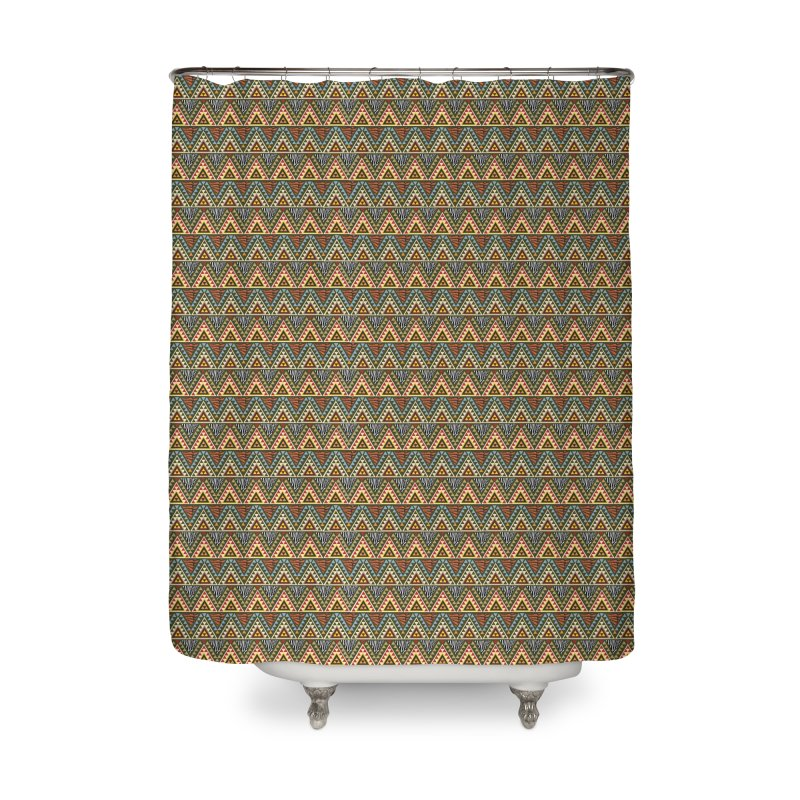 AFRICAN STYLE Home Shower Curtain by pick&roll