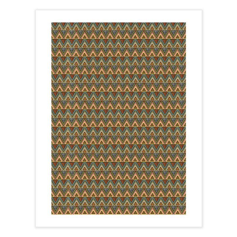 AFRICAN STYLE Home Fine Art Print by pick&roll