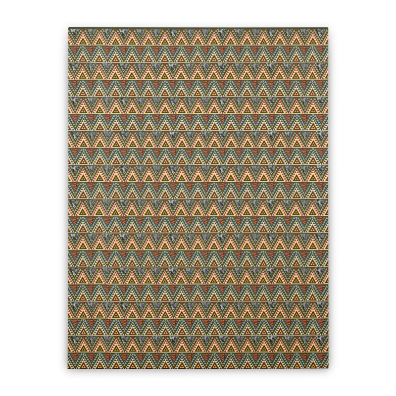 AFRICAN STYLE Home Stretched Canvas by pick&roll