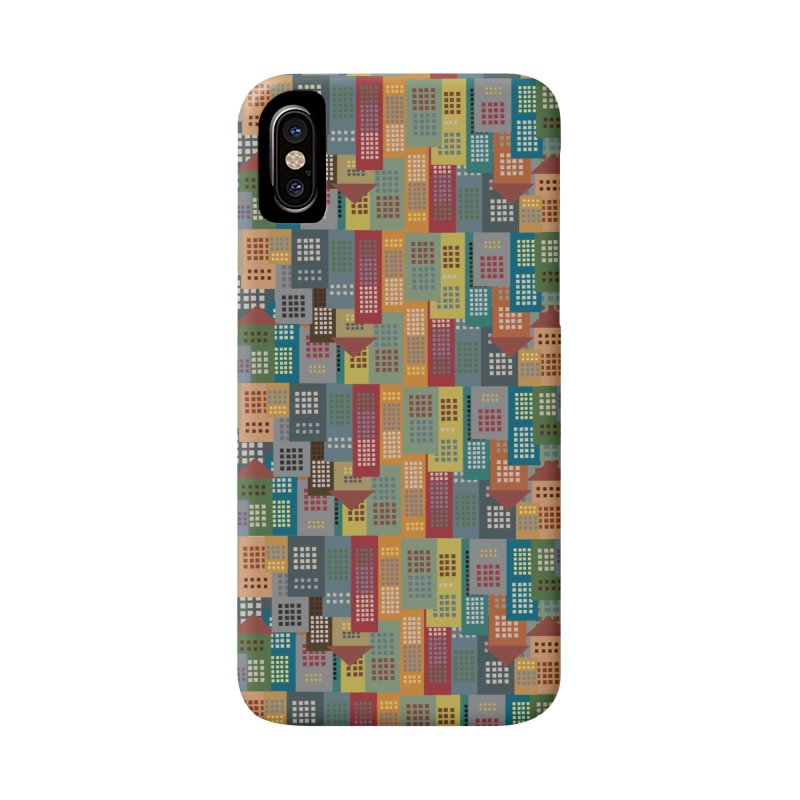 COLORFUL BUILDINGS Accessories Phone Case by pick&roll