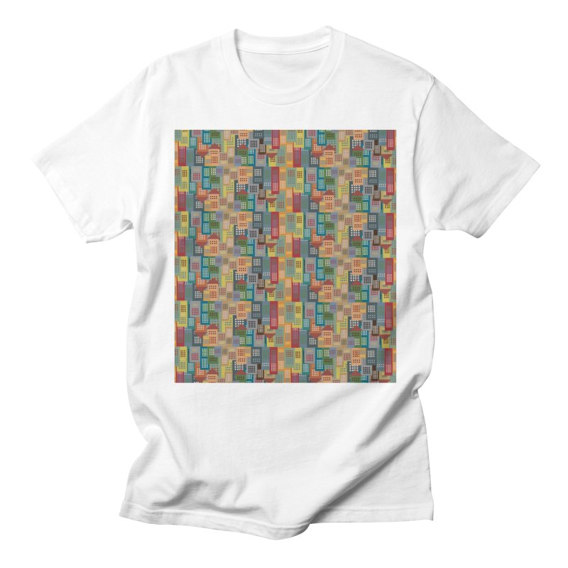 COLORFUL BUILDINGS Women's Unisex T-Shirt by pick&roll