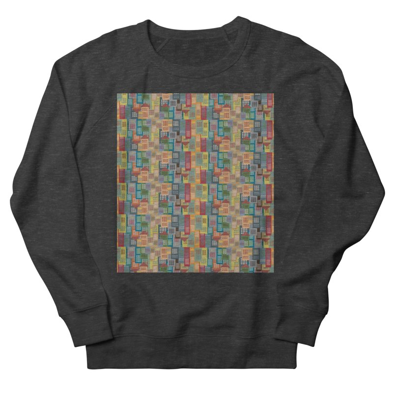 COLORFUL BUILDINGS Women's Sweatshirt by pick&roll
