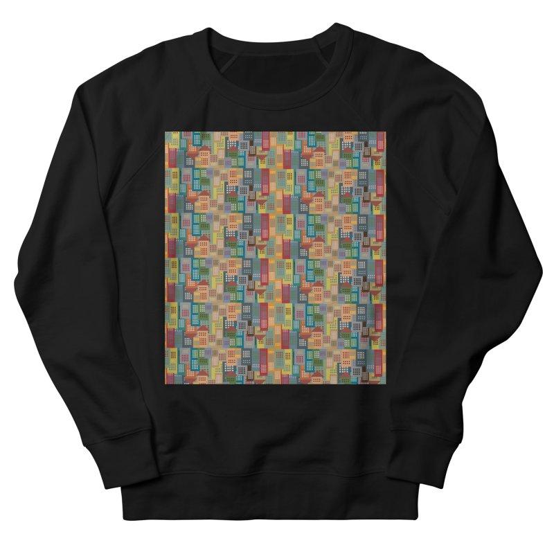 COLORFUL BUILDINGS Women's Sweatshirt by pick&roll
