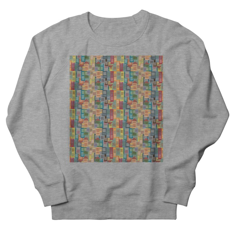 COLORFUL BUILDINGS Men's Sweatshirt by pick&roll